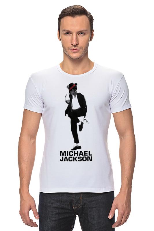Футболка Стрэйч Printio Michael jackson sarah jackson футболка