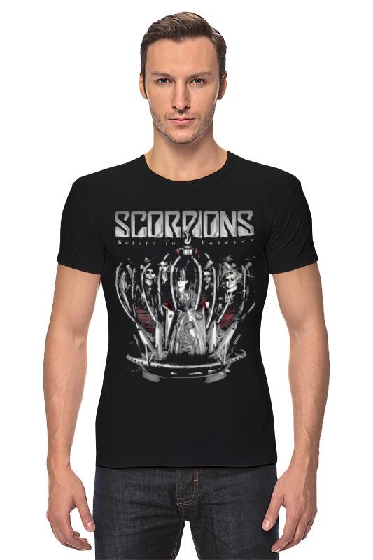 Футболка Стрэйч Printio Scorpions - return to forever tour return to forever france tour edition cd dvd