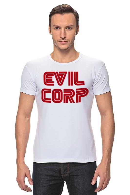 Футболка Стрэйч Printio Evil corp designs corp