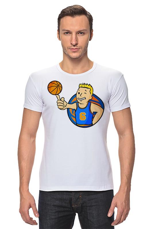 Футболка Стрэйч Printio Кристапс порзингис (фоллаут) футболка с полной запечаткой printio нью йорк никс