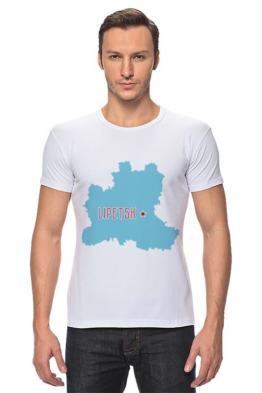 Футболка Стрэйч Printio Липецкая область. липецк