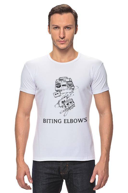 Футболка Стрэйч Printio Biting elbows сигнализатор поклевки мегатекс в москве