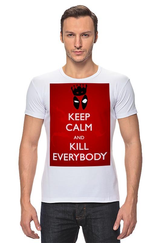 Футболка Стрэйч Printio Дэдпул (deadpool) футболка стрэйч printio моряк попай