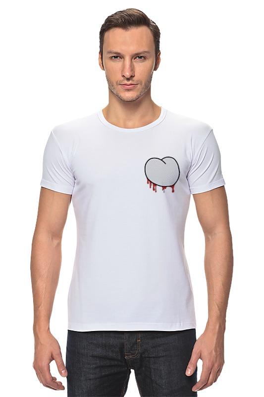 Футболка Стрэйч Printio Вырезанное сердце 2 футболка стрэйч printio 62 2% в саратове