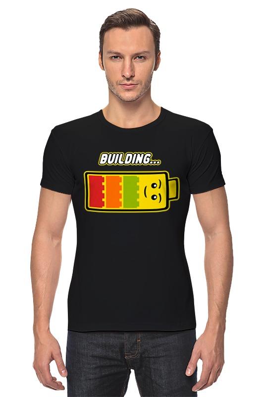 Футболка Стрэйч Printio Лего (строительство)