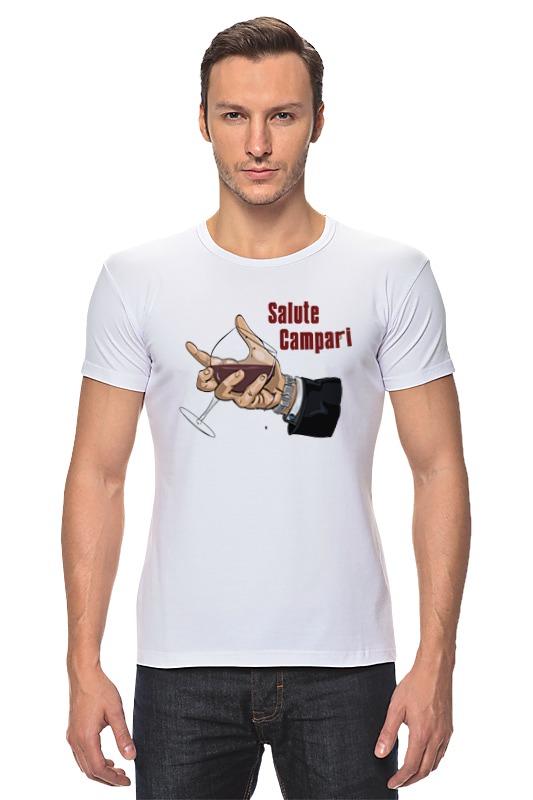 Футболка Стрэйч Printio Salute campari складной нож salute