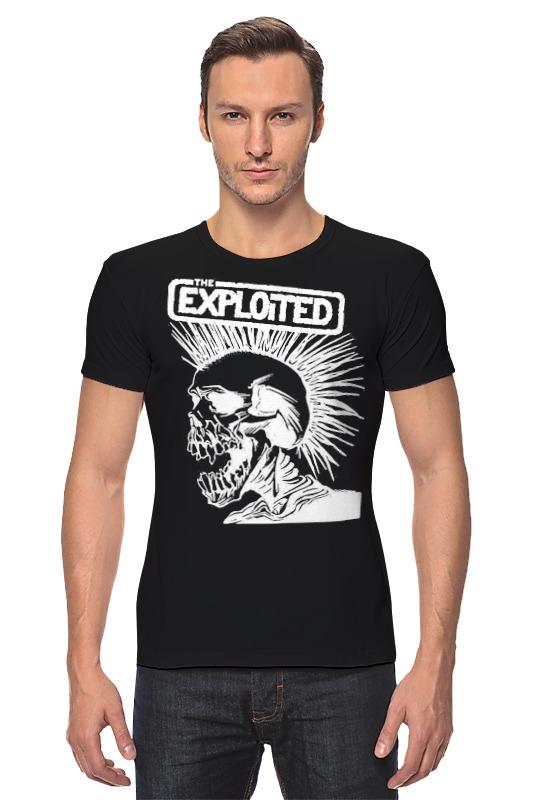 Футболка Стрэйч Printio The exploited the exploited the exploited apocalypse tour 1981 limited edition lp