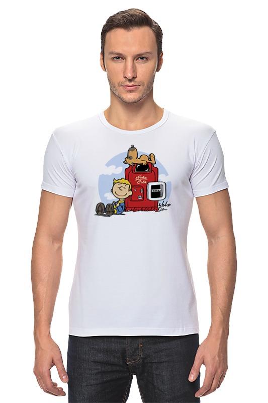 Футболка Стрэйч Printio Fallout (фэллаут) футболка классическая printio fallout фэллаут
