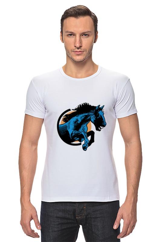 Футболка Стрэйч Printio Лошадь футболка стрэйч printio речная лошадь