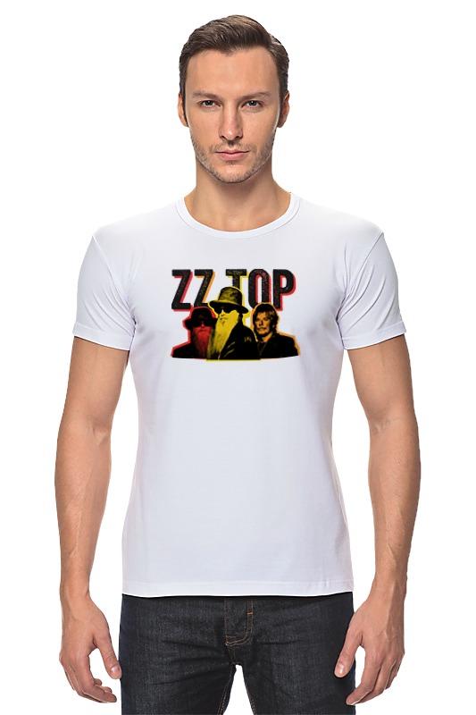 Футболка Стрэйч Printio Zz top! футболка asics футболка layering top