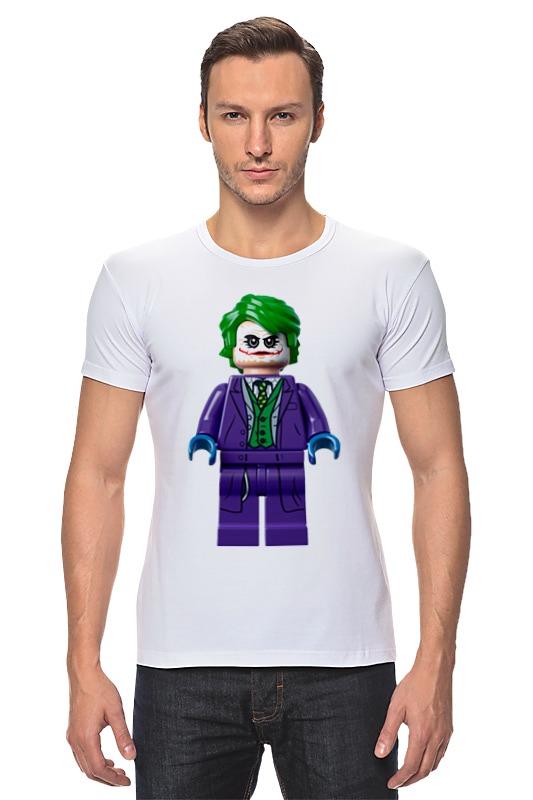 Футболка Стрэйч Printio Джокер костюм озорного клоуна детский 32 34