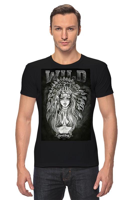 Футболка Стрэйч Printio wild by devildoll детская футболка классическая унисекс printio wild by devildoll
