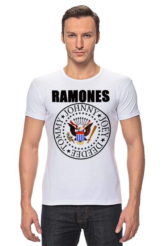 Футболка Стрэйч Printio Ramones майка классическая printio ramones