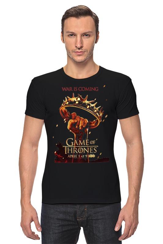 Футболка Стрэйч Printio Игра престолов / games of trones футболка wearcraft premium printio игра престолов