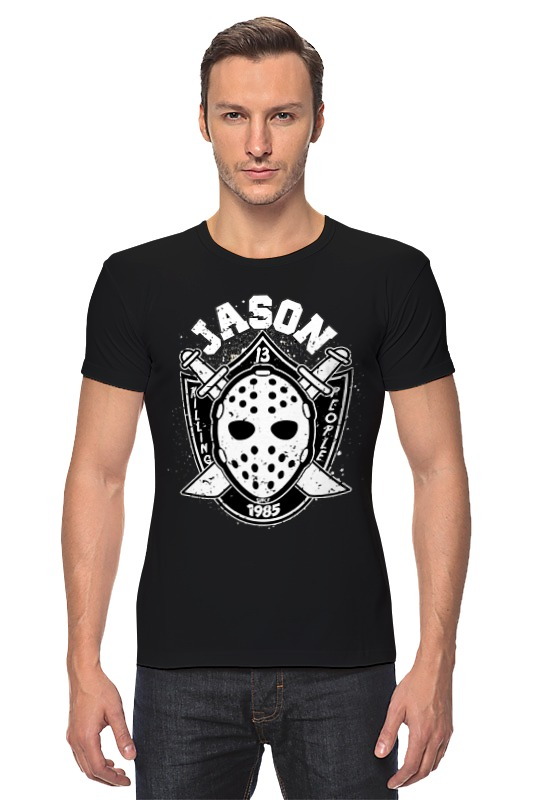 Футболка Стрэйч Printio Jason (friday 13) friday nights