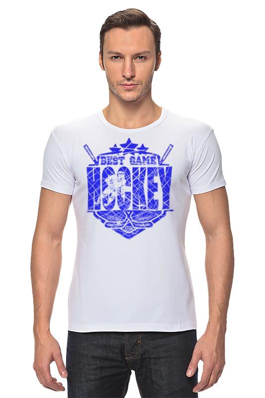 Футболка Стрэйч Printio Хоккей!!! билеты на хоккей авангард онлайн