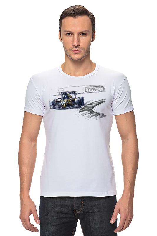 Футболка Стрэйч Printio Formula 1 футболка formula joven formula joven mp002xw1b0pp