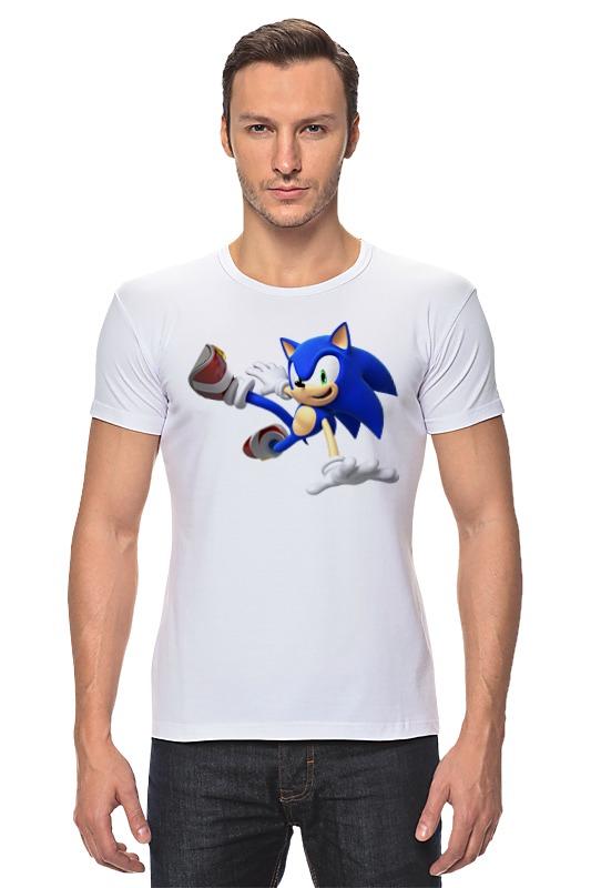 Футболка Стрэйч Printio Sonic dance футболка классическая printio sonic dance