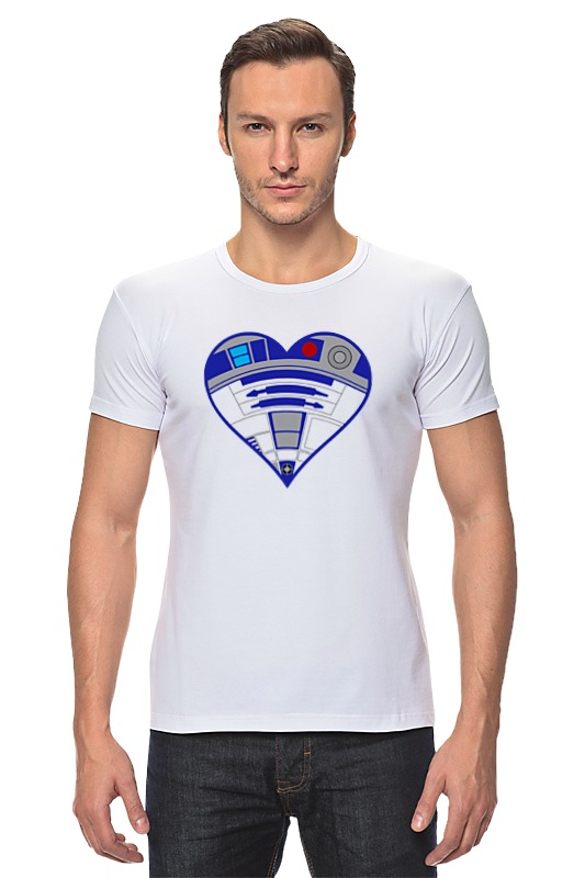 Футболка Стрэйч Printio R2-d2 (star wars) футболка стрэйч printio r2 d2 star wars