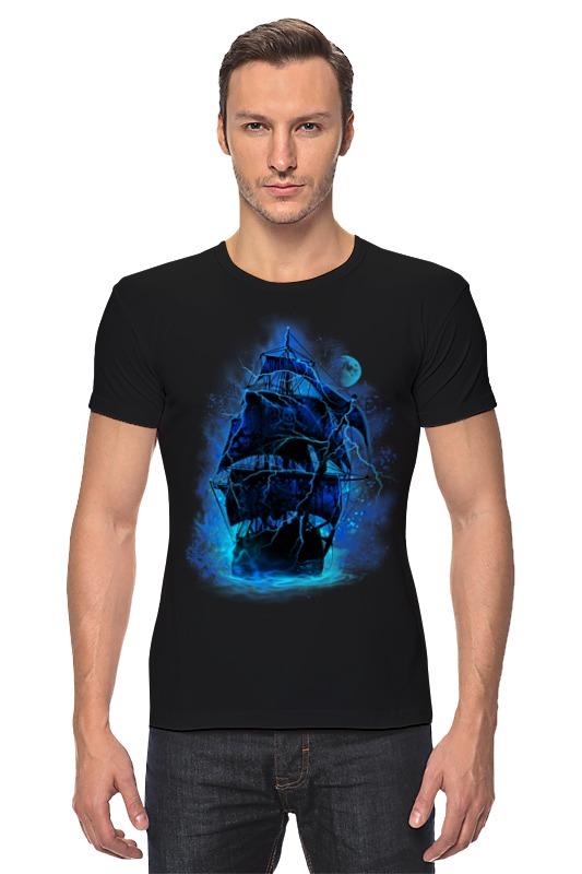 Футболка Стрэйч Printio Пиратский корабль elc корабль пластик пиратский