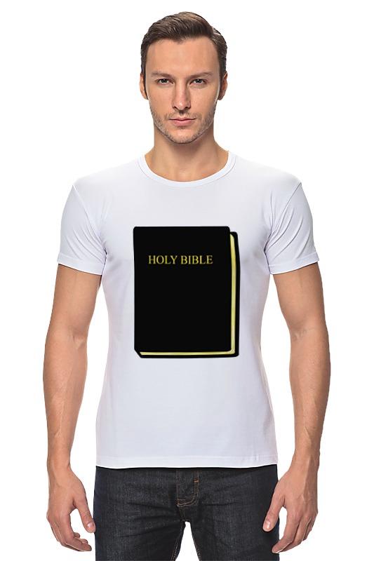 Футболка Стрэйч Printio Holy bible новый завет в изложении для детей четвероевангелие