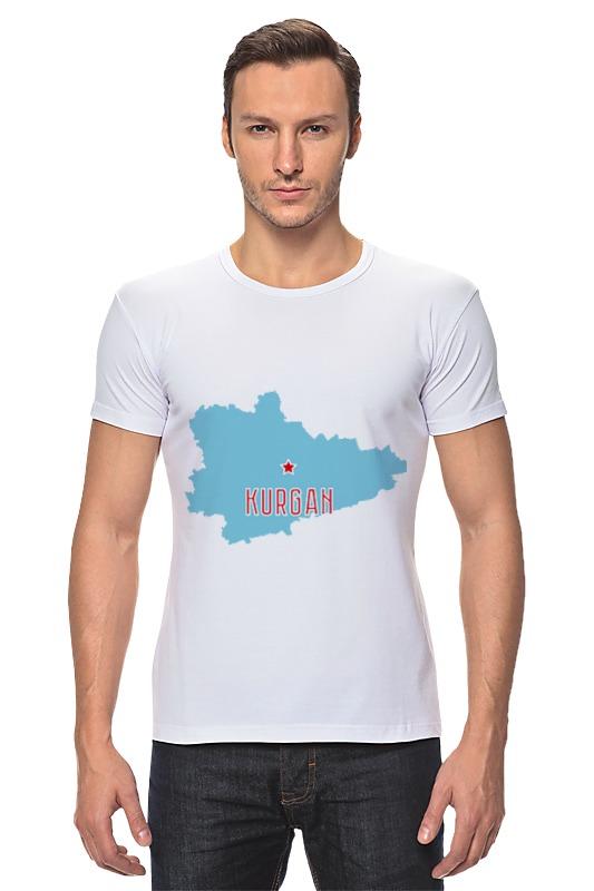 Футболка Стрэйч Printio Курганская область. курган