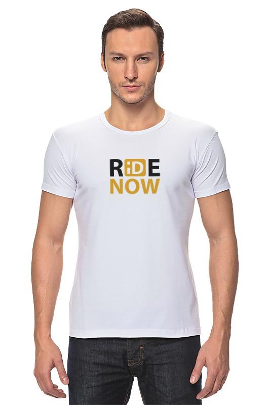 Футболка Стрэйч Printio Ride-now женская одежда для спорта