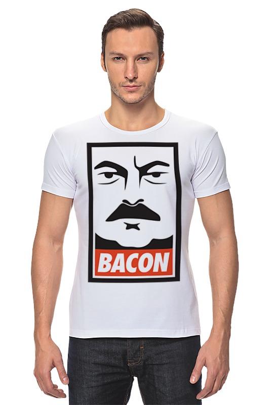 Футболка Стрэйч Printio Bacon (obey) francis bacon