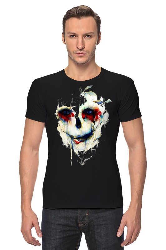 Футболка Стрэйч Printio Череп (skull) футболка стрэйч printio моряк попай