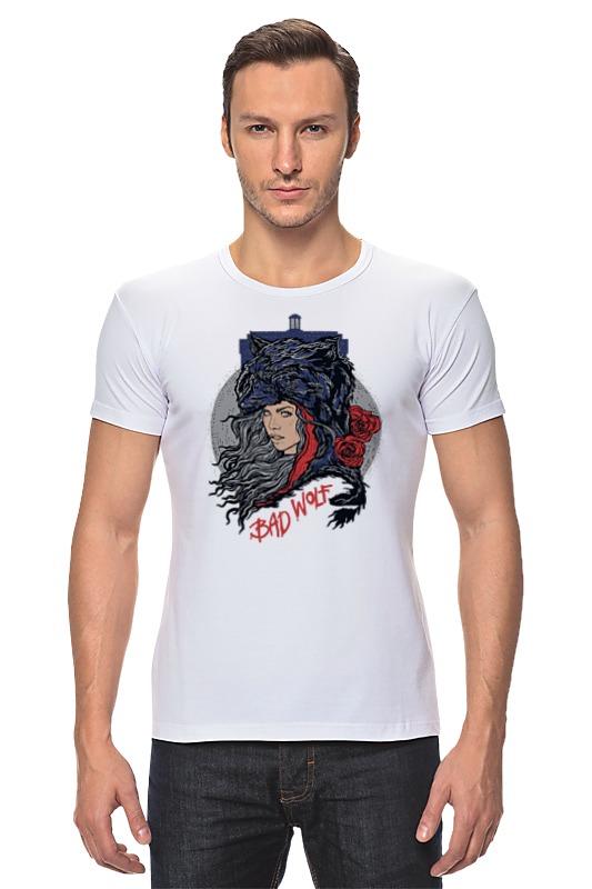 Футболка Стрэйч Printio Bad wolf (doctor who) футболка рингер printio доктор кто doctor who