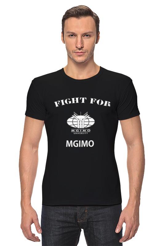 Футболка Стрэйч Printio Fight for mgimo цена и фото