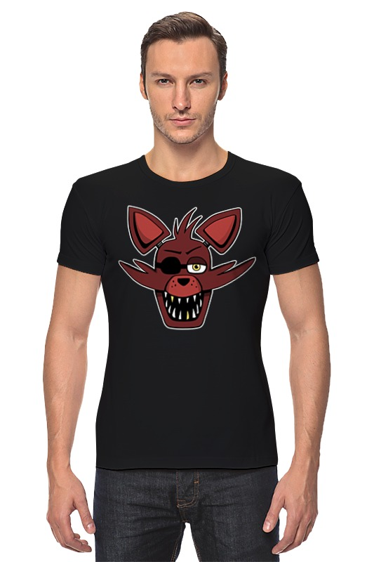 Футболка Стрэйч Printio Foxy (пять ночей у фредди) лиса декоративная foxy