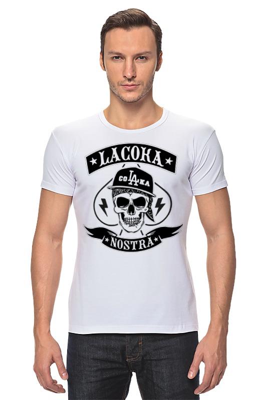 Футболка Стрэйч Printio La coka nostra футболки la coka nostra в спб