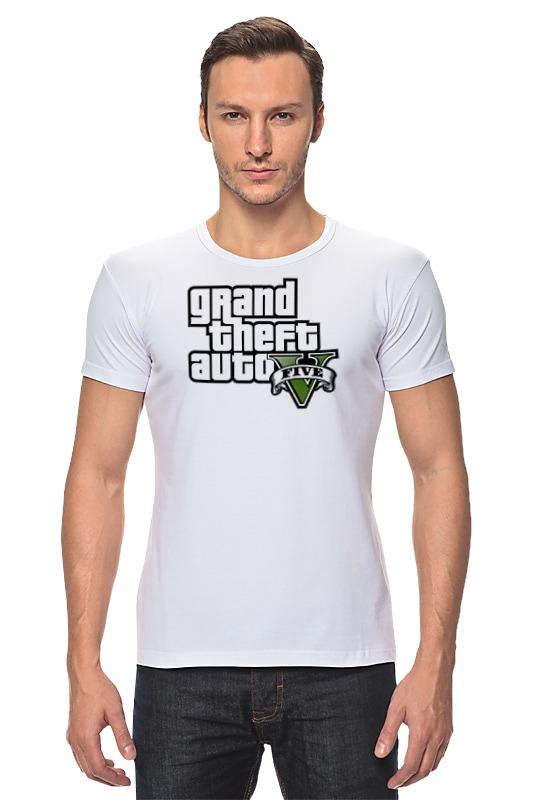 Футболка Стрэйч Printio Grand theft auto 5 футболка классическая printio grand theft auto 5