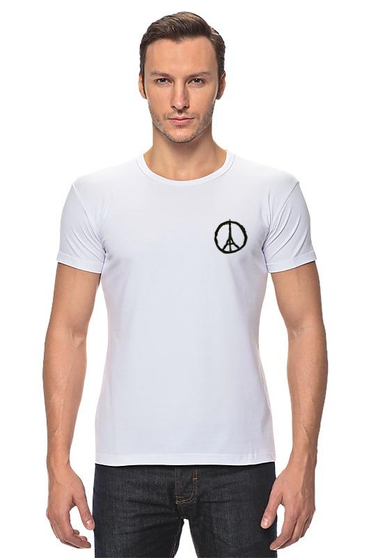 футболка стрэйч printio pray for paris молитесь за париж Футболка Стрэйч Printio Pray for paris   молитесь за париж