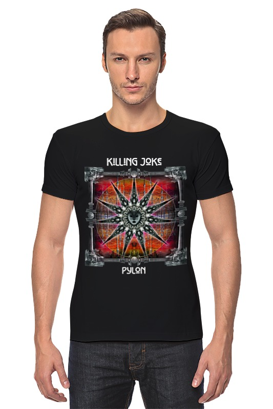 Футболка Стрэйч Printio Killing joke / pylon kind worth killing