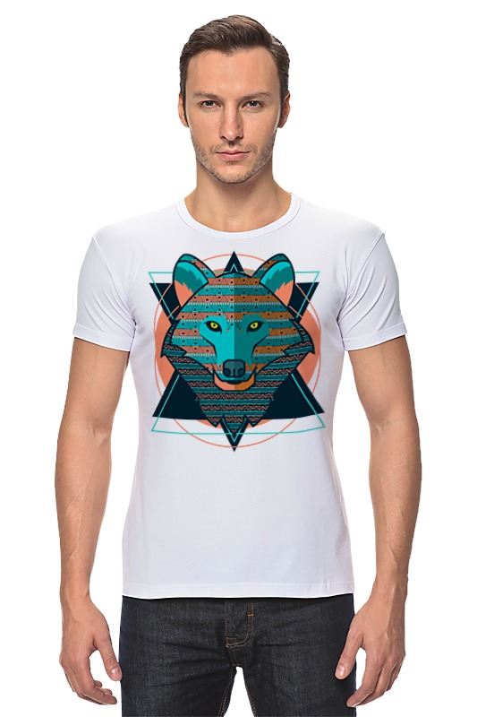 Футболка Стрэйч Printio Wolf (волк) футболка стрэйч printio моряк попай