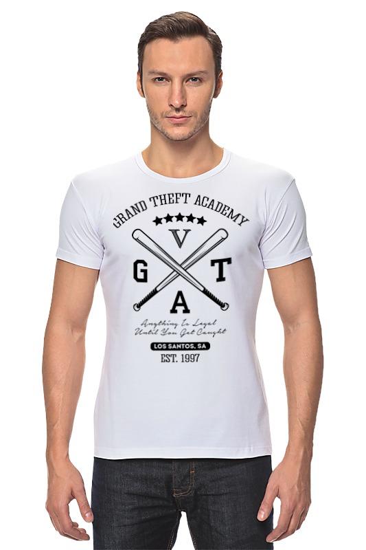 Футболка Стрэйч Printio Gta футболка стрэйч printio gta 5 trevor