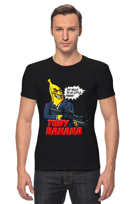 Футболка Стрэйч Printio Tony banana эверласт официальный сайт
