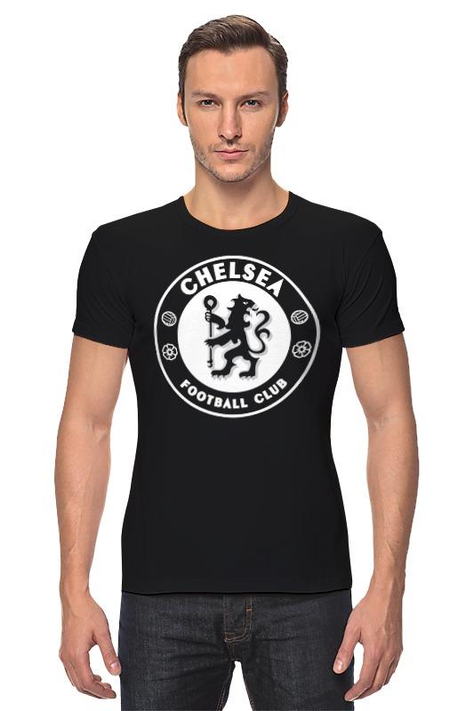 Футболка Стрэйч Printio Chelsea (челси) сумка printio челси