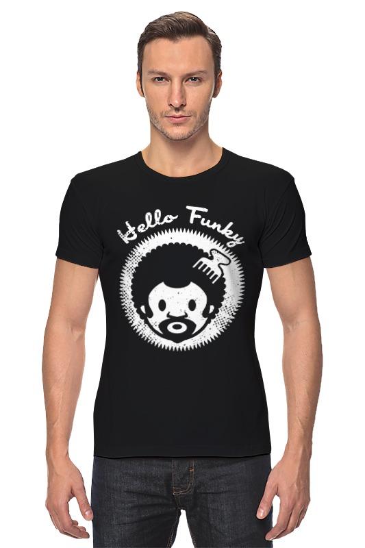 Футболка Стрэйч Printio Hello funky футболка funky staff