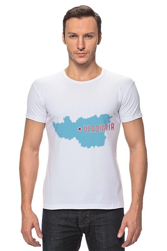 Футболка Стрэйч Printio Владимирская область. владимир