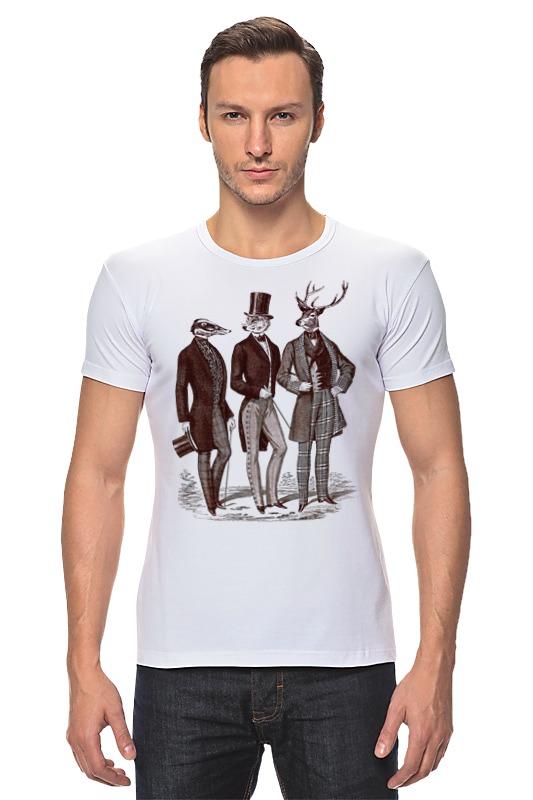 Футболка Стрэйч Printio Джентльмены футболка классическая printio джентльмены удачи