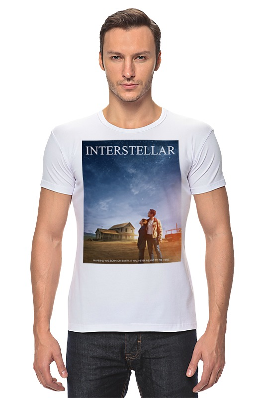 Футболка Стрэйч Printio Интерстеллар футболка стрэйч printio хозяин морей