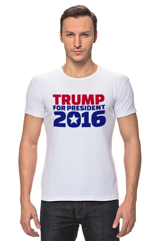 Футболка Стрэйч Printio Trump for president пленка тонировочная president 5% 0 5м х 3м