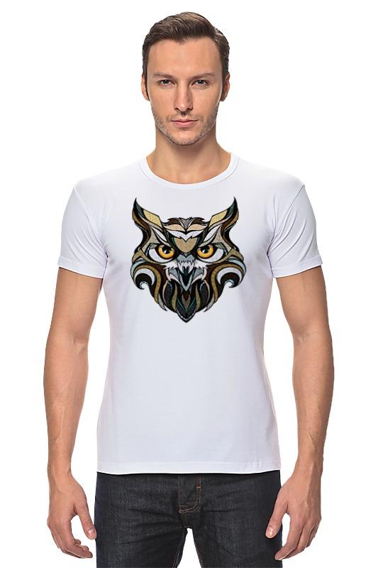 Футболка Стрэйч Printio Сова (owl) футболка стрэйч printio моряк попай