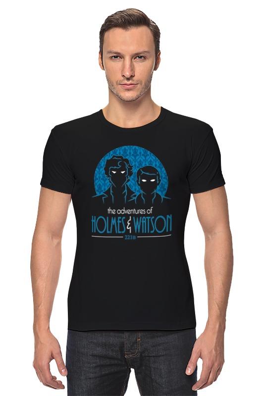 Футболка Стрэйч Printio Шерлок холмс и доктор ватсон футболка стрэйч printio доктор кто х шерлок холмс