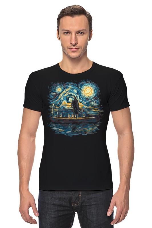 Футболка Стрэйч Printio Шерлок (ван гог) футболка print bar ван гог