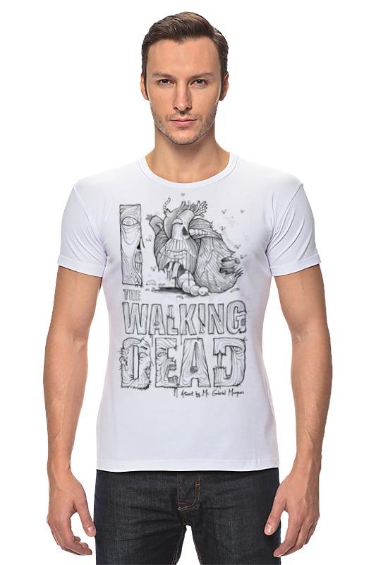 Футболка Стрэйч Printio Я люблю ходячих мертвецов футболка стрэйч printio я люблю этот мир