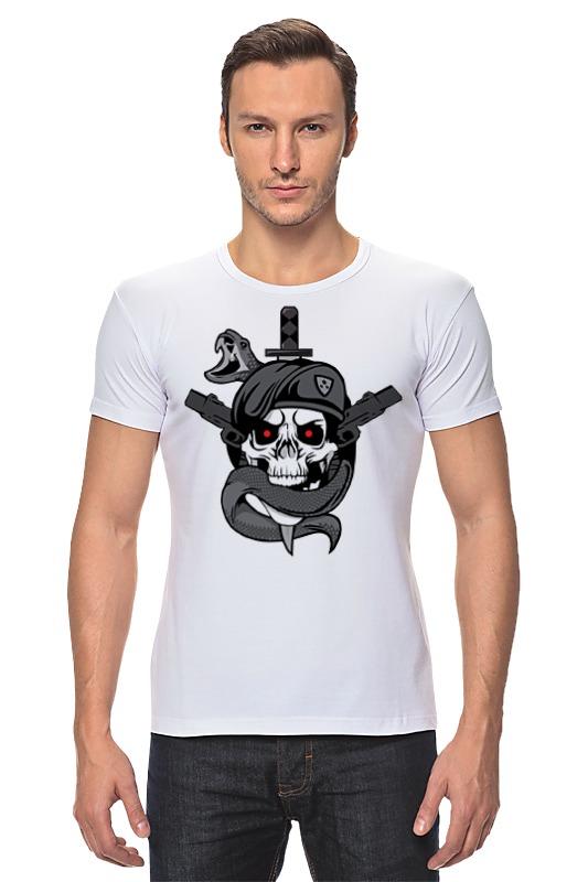 Футболка Стрэйч Printio Череп (call of duty) футболка для беременных printio череп call of duty